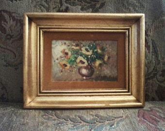 Small Original Oil Painting