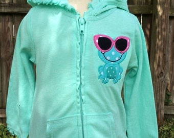 Personalized Kids or Toddlers Zip-Up - Personalized Sweatshirt - Personalized Name Zip UP - Monogram Shirt - Girl - Toddler - Baby - Hoodie