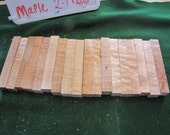 "Maple Pen Blanks Turning Blanks (18 Total) Ave 6"" x 1"" x 1"" (2-1740)"