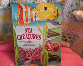 Sea Creatures (At Your Fingertips (McClanahan)) (Board book) 1993