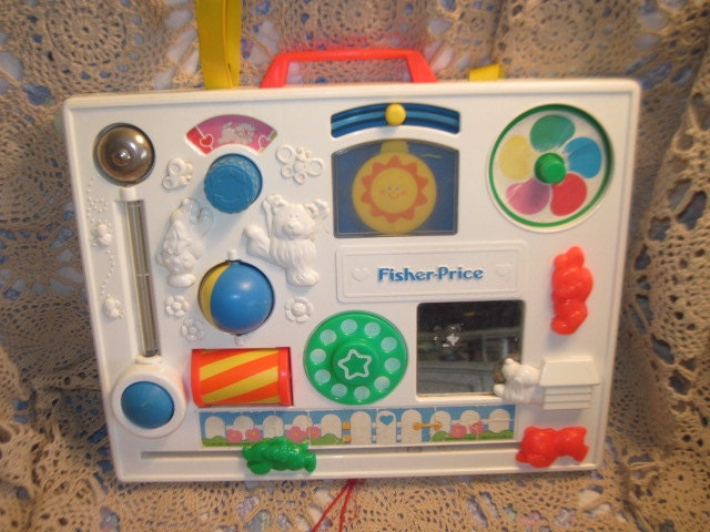 1984 fisher price activity center 134 not included in coupon. Black Bedroom Furniture Sets. Home Design Ideas