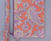 Paisley and Floral Wild Blossom Rosebud Rectangle