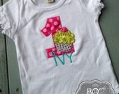 Custom Cupcake Boutique Birthday Shirt