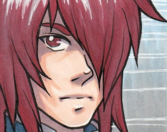 Tales of Symphonia - Kratos Aurion artist trading card