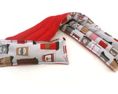 Pain in the Neck Herbal Heating Pad, Red Coffee Travel Mugs, , Aromatherapy Heat Pack.