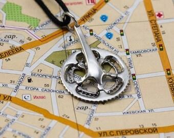 Bicycle crank pendant