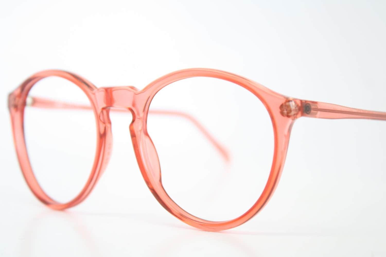 Unusual Designer Eyeglass Frames : Vintage Glasses Frames Pink P3 Unique Eyeglass Frames Retro