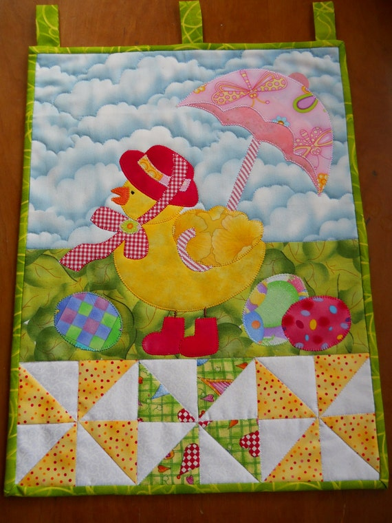 Easter Wallhanging Easter Quilt Patchwork Wallhanging