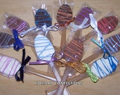 RESERVED LISTING for KATHLEEN - Chocolate Coffee Dunker Spoons - Flavored Spoons - Coffee Spoons - Chocolate Spoons