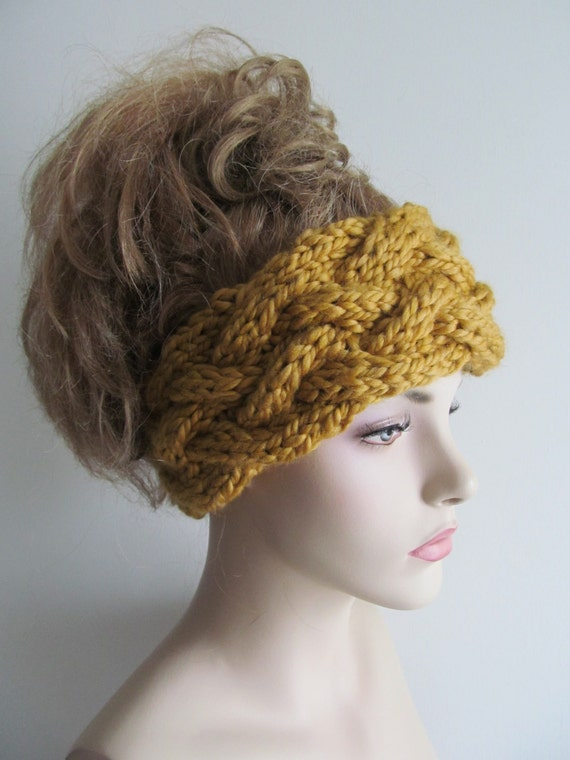 Instant Download PDF Knitting Pattern Braided Cable by ...