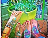 Handmade Crochet Barefoot Sandals,Hippie Foot Thongs, Bridal, Bridesmaids, Summer, Beach, Lace up Sandals, Festival, Gladiators, Bohemian