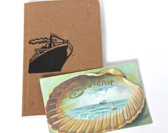 Cruise Travel Journal Travelers Notebook Diary Sketchbook Voyage Journal
