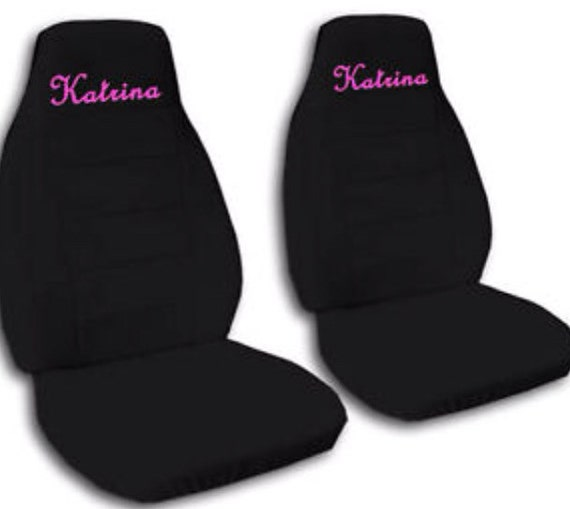 custom car seat covers 2 front seat covers by savvycovers. Black Bedroom Furniture Sets. Home Design Ideas