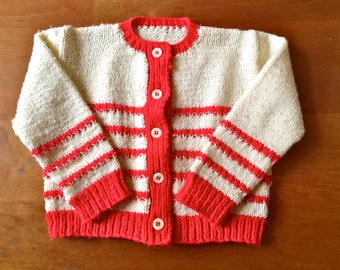 SALE Vintage Striped Knit Sweater (toddler)