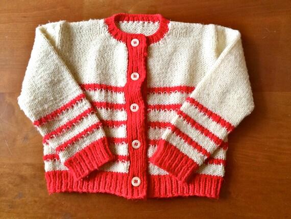 SALE Vintage Striped Knit Sweater (toddler)