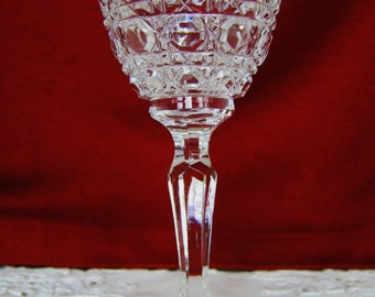 REXXFORD SOLITAIRE 3-oz Sherry CRYSTAL Wine Glasses Discontinued Pattern Bar Vintage Collectible Gift Wedding