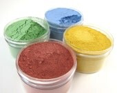 4 Color Milk Paint Sampler - Non-toxic All Natural Paint Perfect for Unfinished Wood Projects - Primary Colors