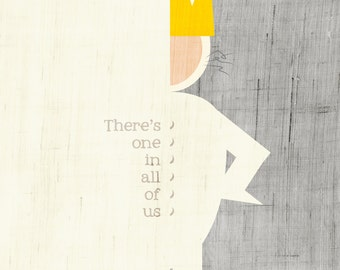 There Is One In All Of Us / Where the Wild Things Are Art Print