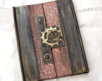 Steampunk Wedding Guest Book