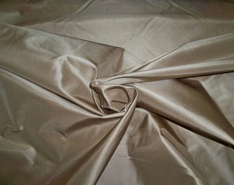 LEE JOFA SANDALWOOD Beige Silk Taffeta Fabric 10 yards
