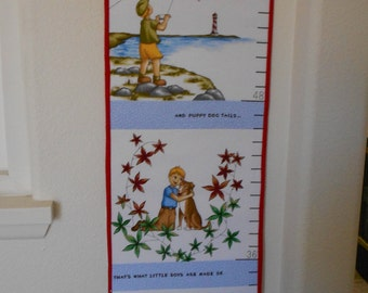 Youth Growth Chart/ Little Boy's Growth Chart/ Growth Chart