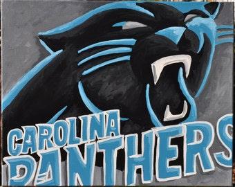 Carolina Panthers Fine II Art by Summo