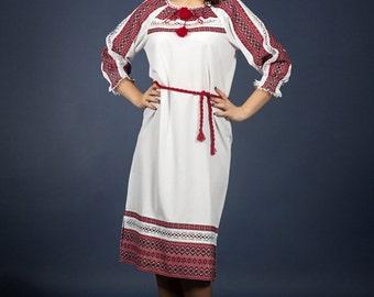 Vyshyvanka. Fashion embroidered dress. Ukrainian Women's dress. Vyshyvanka dress. УКРАИНСКОЕ ВЫШИТОЕ ПЛАТЬЕ
