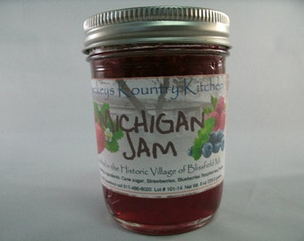 Michigan Jam Homemade by Beckeys Kountry Kitchen jam jelly preserves fruit spread nandcrafted artisan quality