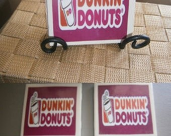 Dunkin Donuts Coasters