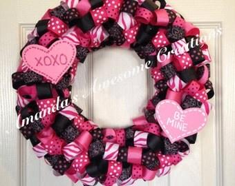 Be Mine Valentine Wreath