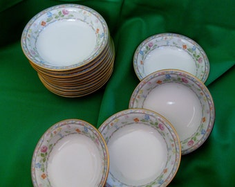 RARE 1970s Noritake Finale Fruit Berry bowls 16 available Very Good