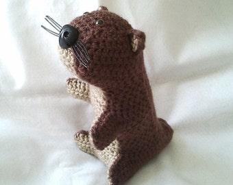 Crochet Otter
