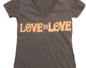 Women's LoveisLove Marriage Equality Shirt