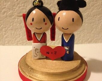 Korean  Wedding Topper Paebaek