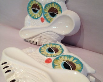 SALE  Hoot Owl spoonrest