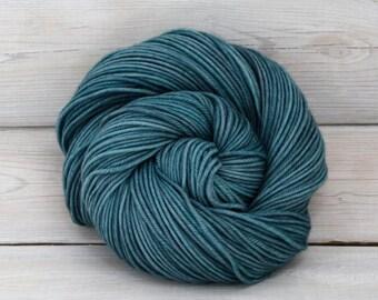 Calypso - Hand Dyed Superwash Merino Wool DK Light Worsted Yarn - Colorway: Marquesas