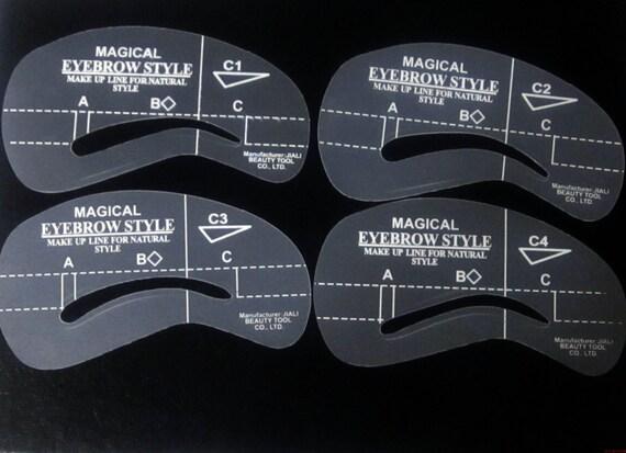 Eyebrow Stencil Shapers - C1- C4