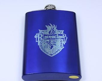 Harry Potter Ravenclaw House Crest 8 oz Flask