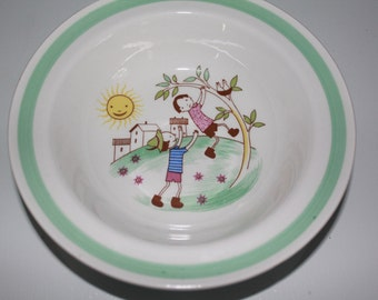 Rare vintage bowl by Arabia Finland