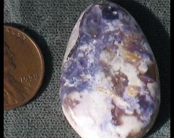 Tiffany stone cabochon 32.5mm x 22.3mm x5mm at 6 grams