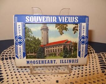 Vintage Mooseheart Souvenir Cards