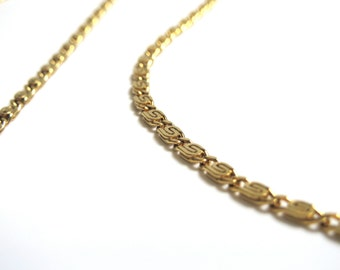 1-20th 14K Yellow Gold Filled Chain Necklace - 24 Inches Long