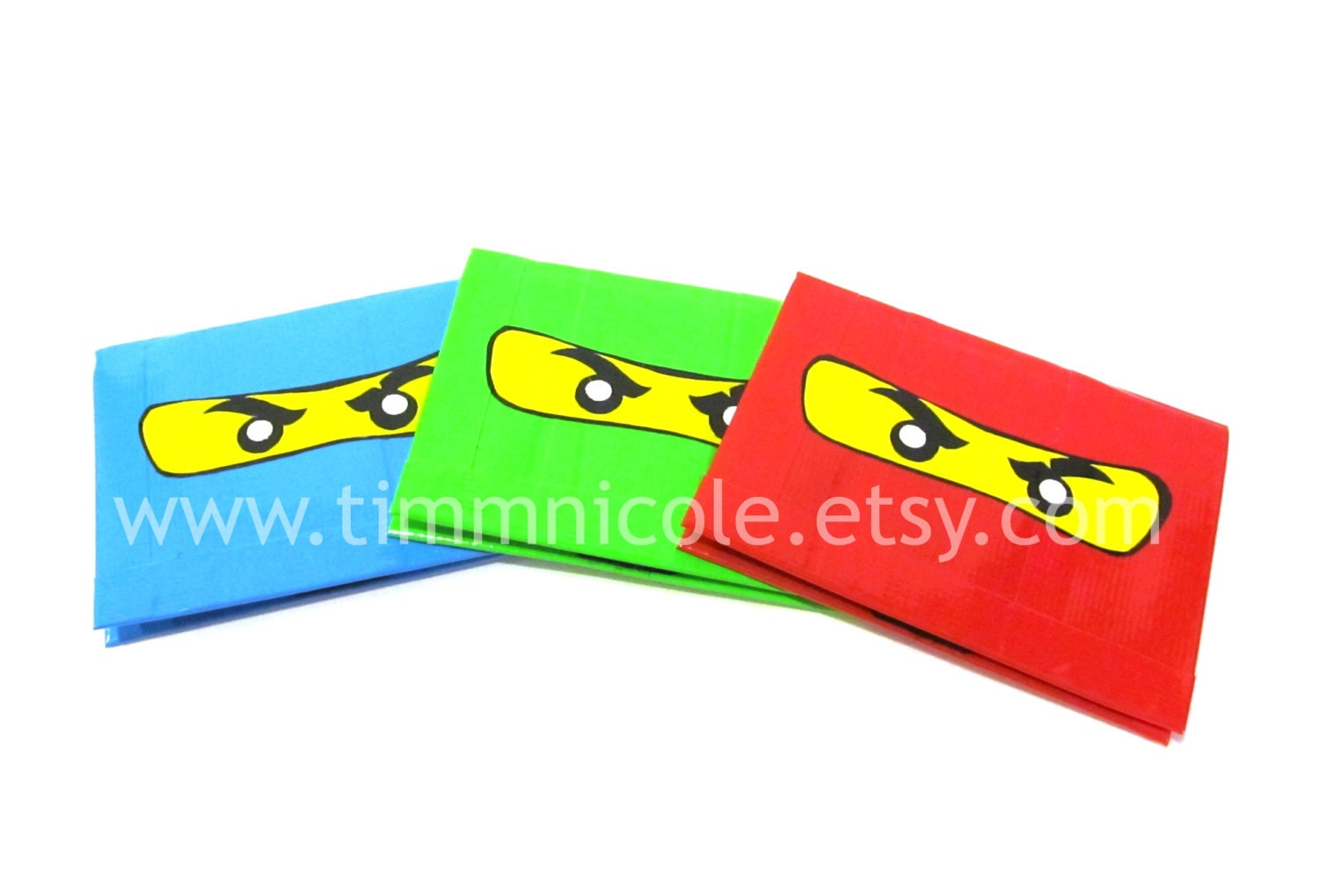 Ninjago Duct Tape Velcro Wallet Smallet Style By