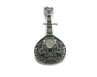 1 Filigree Portuguese guitar Pendant G01