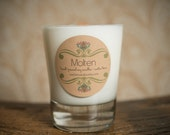 Made-to-Order Soy Candle with Wood Wick, over 40 scents to choose from  - 13oz Large Tumbler