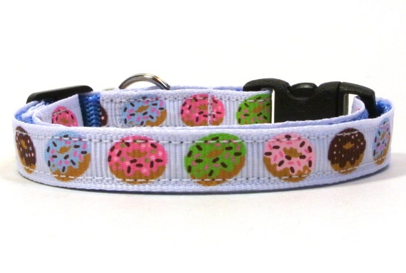 Time To Make The Donuts Breakaway Cat Collar