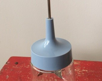 Vintage Blue Food Chopper