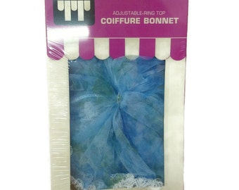 Tip Top Adjustable Ring Top Coiffure Bonnet - New Unopened