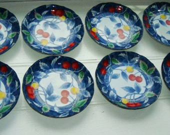 Japanese Cherry Appetizer Luncheon Plates [Drm]