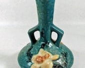 Vintage - Antique Roseville Vase - Collectible Pottery - Antique Collectible Roseville - Home Decor